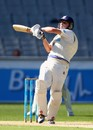 Nic Maddinson pulls during his half-century, Victoria v New South Wales, Sheffield Shield, Melbourne, 2nd day, March 9, 2012