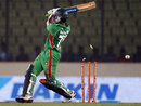 Shakib Al Hasan misses and is bowled, Bangladesh v Pakistan, Asia Cup, Mirpur, March 11, 2012