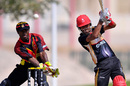 Nitish Kumar punches through the off side during his half-century, Canada v Papua New Guinea, ICC World Twenty20 Qualifiers, Dubai, March 14, 2012