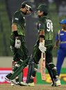 Misbah-ul-Haq and Umar Akmal put on 152 for the fourth wicket, Pakistan v Sri Lanka, Asia Cup, Mirpur, March 15, 2012