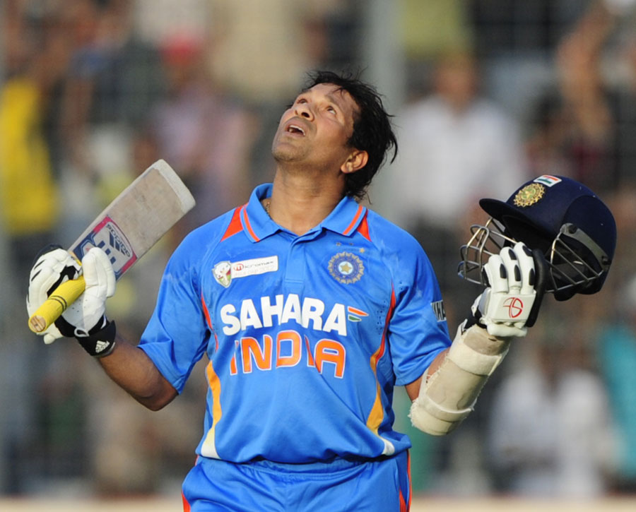 Sachin after his 100th century
