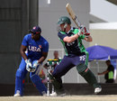 Kevin O'Brien plays a cut shot during his innings, Ireland v USA, ICC World Twenty20 Qualifier, Dubai, March 16, 2012