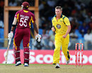 Xavier Doherty ran through West Indies' middle order