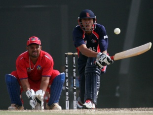 Paras Khadka's half-century led Nepal to a 24-run victory against Bermuda in Abu Dhabi