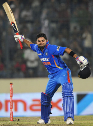 India V Pakistan Asia Cup Mirpur Virat Kohli The Master Of The