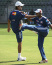 RP Singh and Ambati Rayudu train for Mumbai Indians