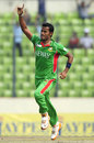 Nazmul Hossain took three top order wickets, Bangladesh v Sri Lanka, Asia Cup, Mirpur, March 20, 2012