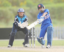 Aditya Mishra hits out on his way to a half-century, Scotland v USA, World Twenty20 Qualifier, Dubai, 20 March