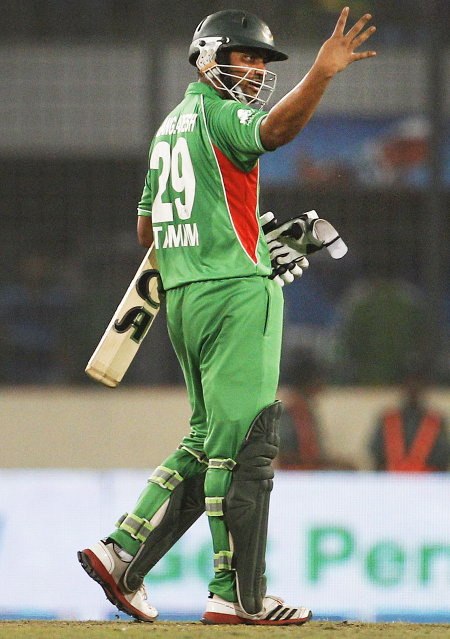 Tamim Iqbal reminds everyone he has scored four half-centuries in a row