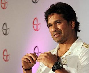 Sachin Tendulkar at a media interaction, Mumbai, March 25, 2012