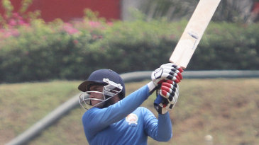 Baroda's Kedar Devdhar hits out during his 96
