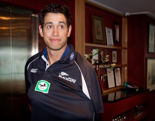 Ross Taylor at a press meet a day after the third Test against South Africa was drawn, Wellington, March 28, 2012