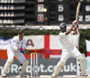 Thilan Samaraweera cuts the spinner