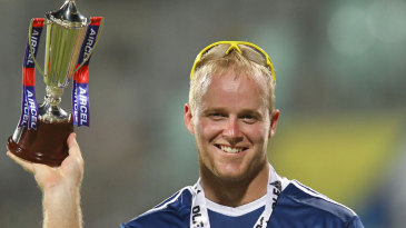 Richard Levi was Man of the Match on his IPL debut