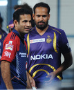Irfan and Yusuf Pathan, Kolkata Knight Riders v Delhi Daredevils, IPL 2012, Kolkata, April 5, 2012