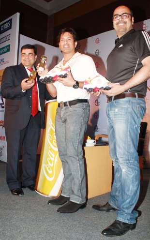 Since scoring the 100th hundred Tendulkar has been on a spree of promotional events celebrating it