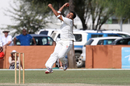 Spinner Junaid Siddiqui took three wickets for Canada, Namibia v Canada, Intercontinental Cup, Windhoek, 3rd day, April 7, 2012