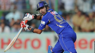 Ashok Menaria scored 40 in a crucial stand with Brad Hodge