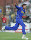 Amit Singh took two wickets in two balls, Rajasthan Royals v Kolkata Knight Riders, IPL, Jaipur, April 8, 2012