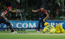 Kevin Pietersen runs out S Badrinath