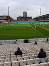 A general view of the action, Surrey v Sussex, County championship, 1st day, The Oval, April 5, 2012