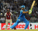 Mithun Manhas top-scored for Pune Warriors with 31, Kings XI Punjab v Pune Warriors India, IPL, Mohali, April 12, 2012