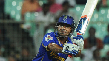 Shreevats Goswami chips over midwicket