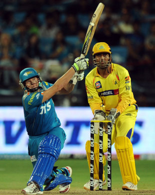 Steven Smith hammered 44 off 22, Pune Warriors v Chennai Super Kings, IPL 2012, Pune, April 14, 2012