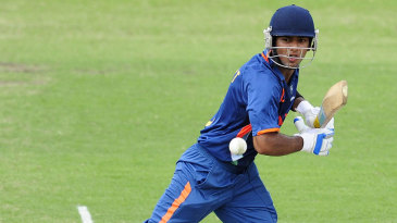 Unmukt Chand set up India's win with a century