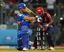 Richard Levi is out to Shahbaz Nadeem, Mumbai Indians v Delhi Daredevils, IPL 2012, Mumbai, April 16, 2012