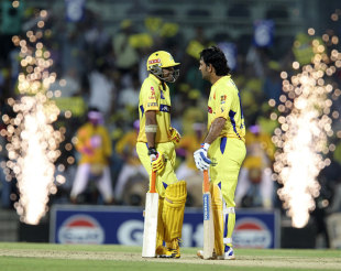 Ravindra Jadeja and MS Dhoni provided the fireworks at the end of the innings