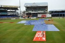 Rain and bad light caused problems throughout the Test, West Indies v Australia, 2nd Test, Port-of-Spain, April 19, 2012