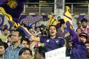 Kolkata fans at Eden Gardens, Kolkata Knight Riders v Rajasthan Royals, IPL 2012, Kolkata, April 13, 2012