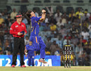 Brad Hogg has a bowl, Chennai Super Kings v Rajasthan Royals, IPL 2012, Chennai, April 21, 2012