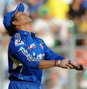 Sachin Tendulkar expresses his disappointment in the field, Mumbai Indians v Kings XI Punjab, IPL, Mumbai, April 22, 2012
