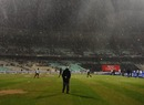 Heavy rain delayed the toss at Eden Gardens