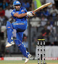 Rohit Sharma pulls during his 42, Mumbai Indians v Deccan Chargers, IPL, Mumbai, April 29, 2012