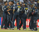 Deccan Chargers celebrated their second win against Pune Warriors, Deccan Chargers v Pune Warriors, IPL, Cuttack, May 1, 2012