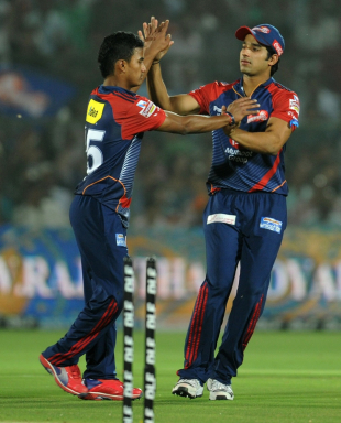 Pawan Negi picked four wickets, Rajasthan Royals v Delhi Daredevils, IPL, Jaipur, May 1, 2012