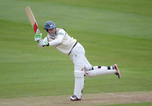 Jonny Bairstow plays into the leg side during his innings of 182, Yorkshire v Leicestershire, County Championship, Division One, North Marine Road, 2nd day, May 3, 2012
