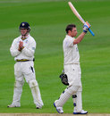 Ian Bell acknowledges his century, Warwickshire v Durham, County Championship, Division One, Edgbaston, 1st day, May 2, 2012