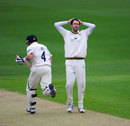 Ian Bell takes a run off Graham Onions, Warwickshire v Durham, County Championship, Division One, Edgbaston, 1st day, May 2, 2012