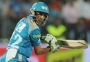 Mithun Manhas top scored with 42 not out but was on the losing side, Pune Warriors v Mumbai Indians, IPL, Pune, May 3, 2012