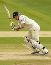 Sam Robson plays a shot off his legs, Middlesex v Worcestershire, County Championship, Division One, Lord's, 2nd day, May 4, 2012