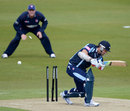 Phil Jaques is bowled first ball by Matt Coles