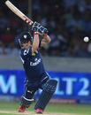 Daniel Harris drives the ball, Deccan Chargers v Kings XI Punjab, IPL, Hyderabad, May 8, 2012