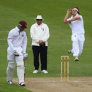 Jack Brooks took two early wickets, England Lions v West Indians, Tour Match, 1st day, Northampton, May 10, 2012