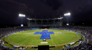 Rain delayed the start of the match in Pune, Pune Warriors v Royal Challengers Bangalore, IPL, Pune, May 11, 2012