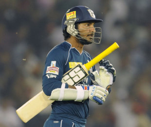 Deccan Chargers captain Kumar Sangakkara finished IPL 2012 with 200 runs at an average of 18