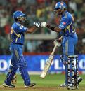 Ambati Rayudu and Kieron Pollard added 122 runs in 10.5 overs